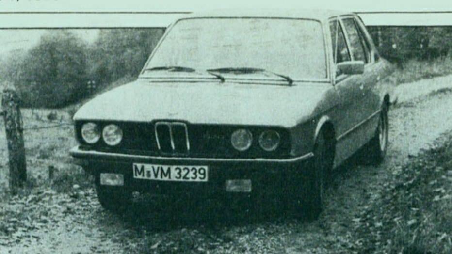 BMW 524Di 1987 года: старый добрый дизель
