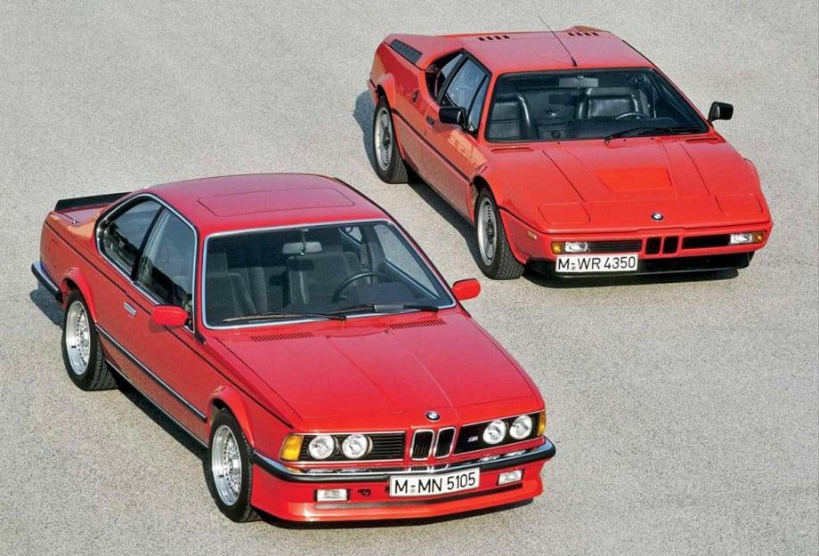 Двигатель от M1 дал жизнь не только седану M5, но и ставился на купе M635CSi.