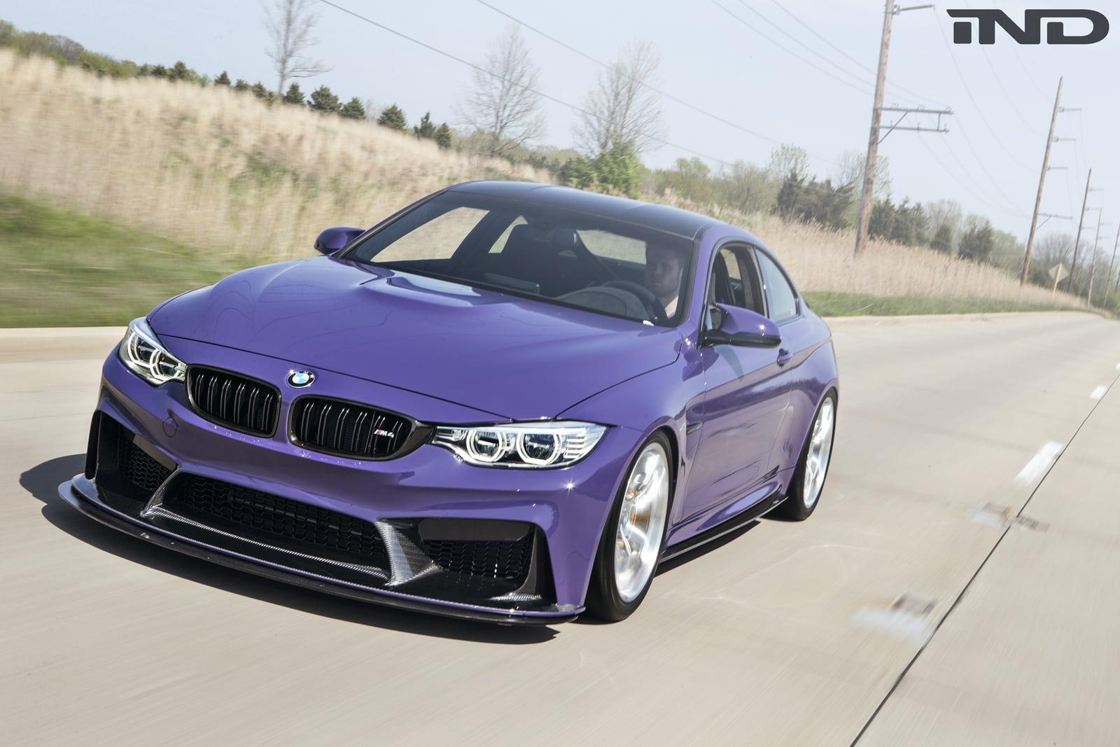Тюнинговое ателье IND Distribution недавно завершило работу над проектом на базе BMW M4.