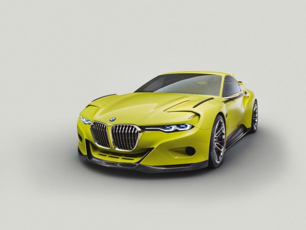 Для создания BMW 3.0 CSL Hommage инженеры BMW вернулись назад к концепции знаменитого спортивного купе 1970-х годов BMW 3.0 CSL.