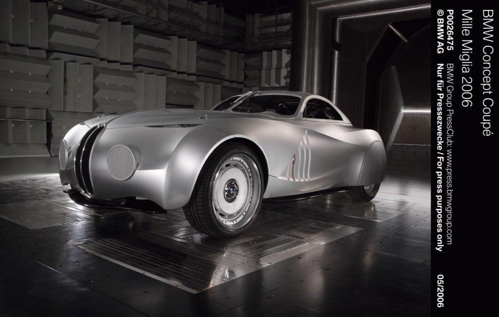 На шоу 2006 года концерн BMW привез концептуальное купе BMW Mille Miglia, одновременно похожий на автомобиль из далекого будущего и на известный автомобиль прошлого — BMW 328 Mille Miglia Touring Coupe, завоевавший победу в непростой гонке 1940 года.