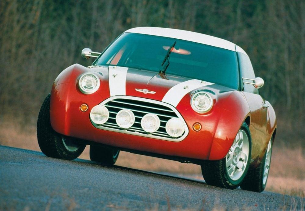 """Концепт MINI ACV 30 был представлен в 1997 году в Монте-Карло и является своеобразным """"мостиком"""" между """"старым"""" и """"новым"""" Mini."""