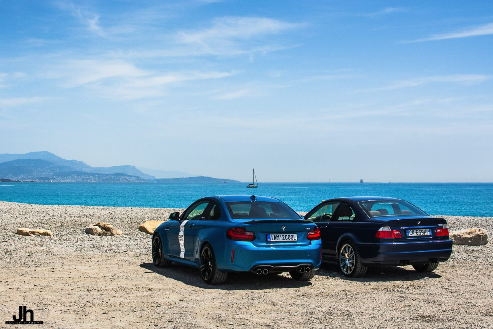 BMW M3 E46 и BMW M2 в отличном фотосете от Julien Hubert Photographie