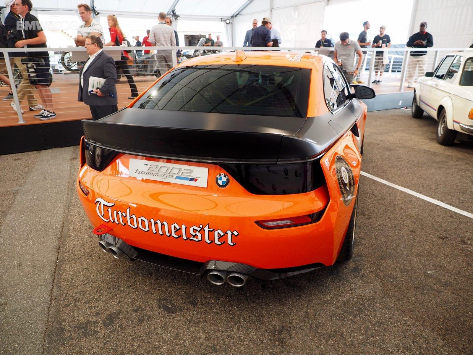 Живые фото BMW 2002 Hommage Turbomeister Concept от BMWBlog.
