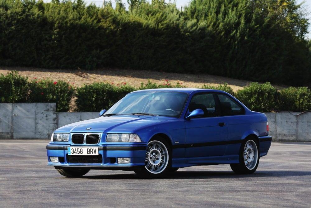 BMW M3 E36 на гоночном треке