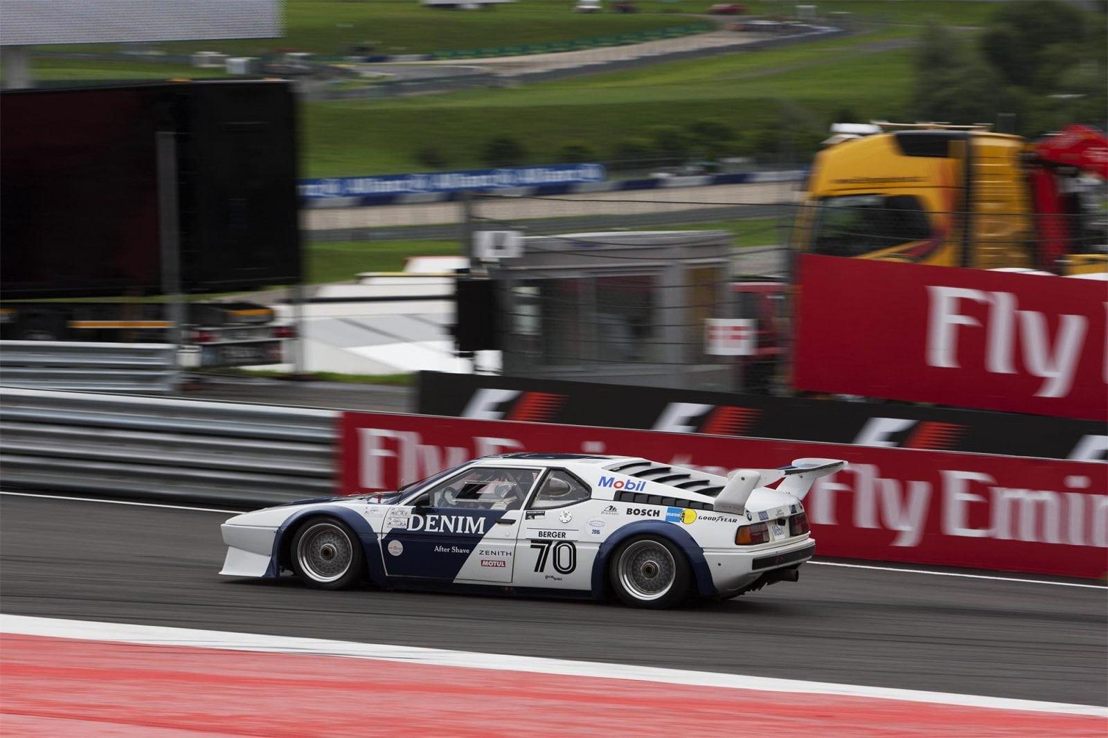 BMW M1 Procar #70 – Gerhard Berger