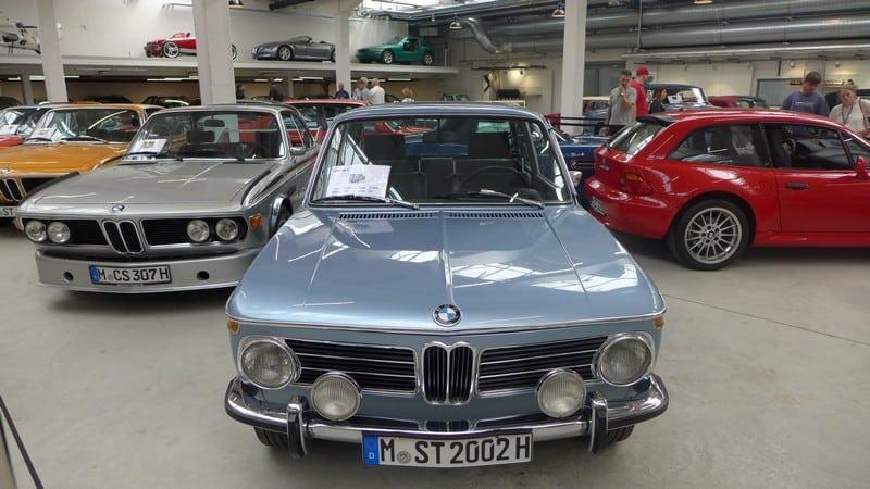 Фотоотчет из новой штаб-квартиры BMW Classic. Фото: Dackel (Dackelone)