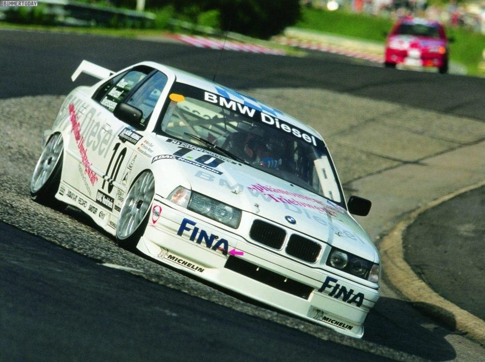 Nurburgring: авария BMW E36 из-за утечки антифриза