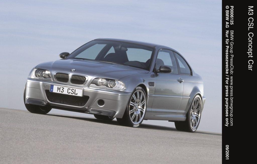 Концепт BMW M3 E46 CSL (2001 год)