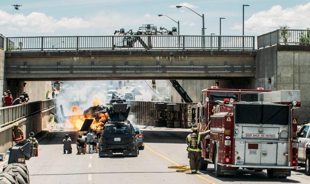 Кадры со сьъемок фильма Побег (The Escape) от BMW Films.