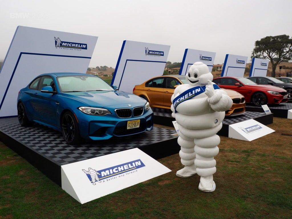 На шоу Legends Of The Autobahn 2016 Michelin собрал на фирменном стенде все последние модели BMW M-серии.