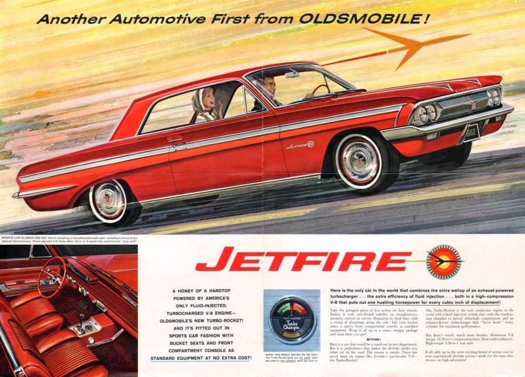 Oldsmobile Jetfire 1962 год