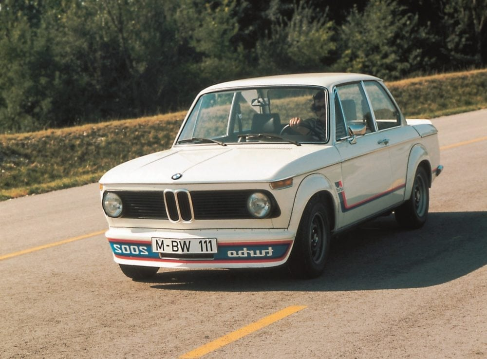 BMW 2002 Turbo 1973 год