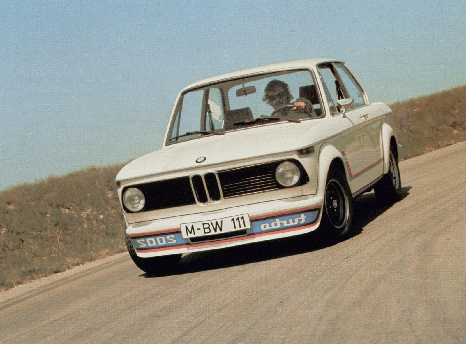 BMW 2002 Turbo 1973 год