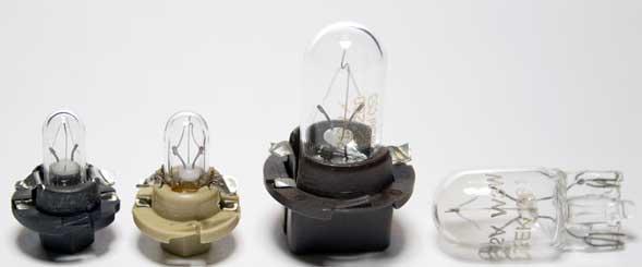 Лампы приборной панели BMW E34
