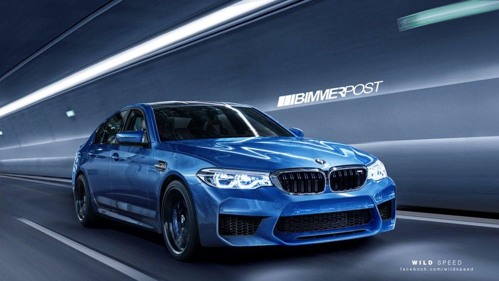 Портал Bimmerpost представил свое видение нового M5 F90 в рендерах, созданных на основе утекших в сеть изображений новой эмки.