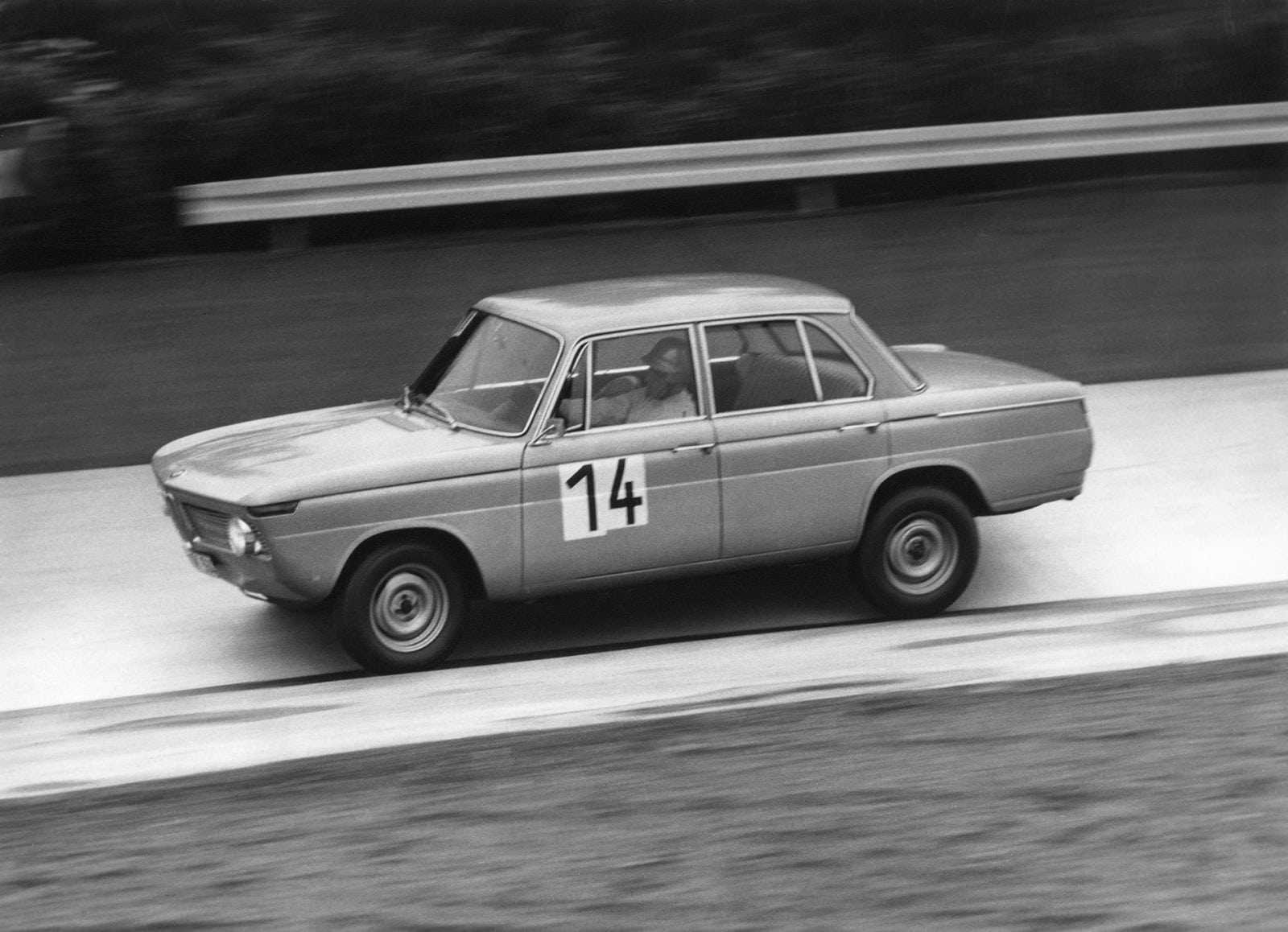 50 Years of BMW New Class, BMW 1800 TI in the 12 Hour Race at the Nürburgring 1964 (03/2011)