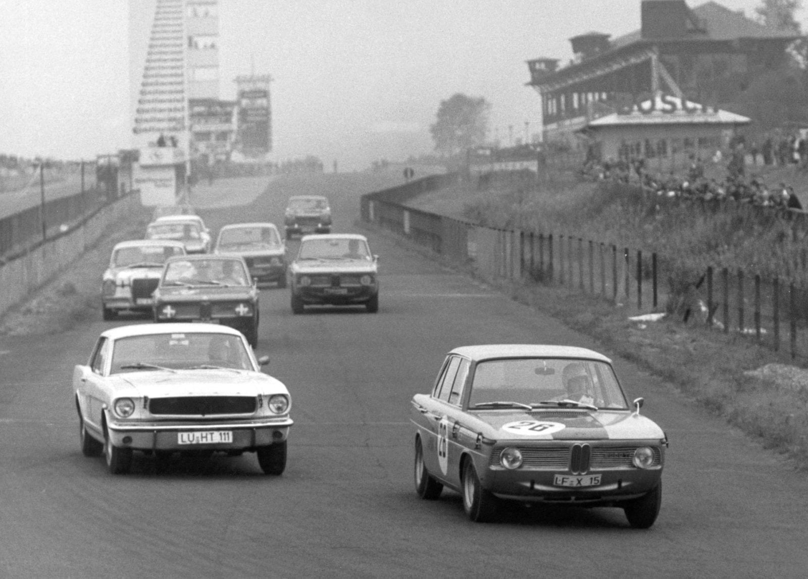 50 Years of BMW New Class, BMW 2000 TI at the Nürburgring 1966 (03/2011)