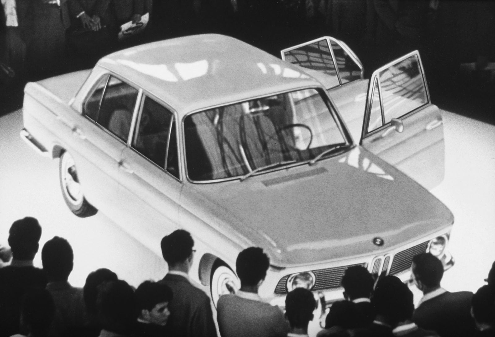 50 Years of BMW New Class, BMW 1500 at 1961 Frankfurt Motor Show (03/2011)