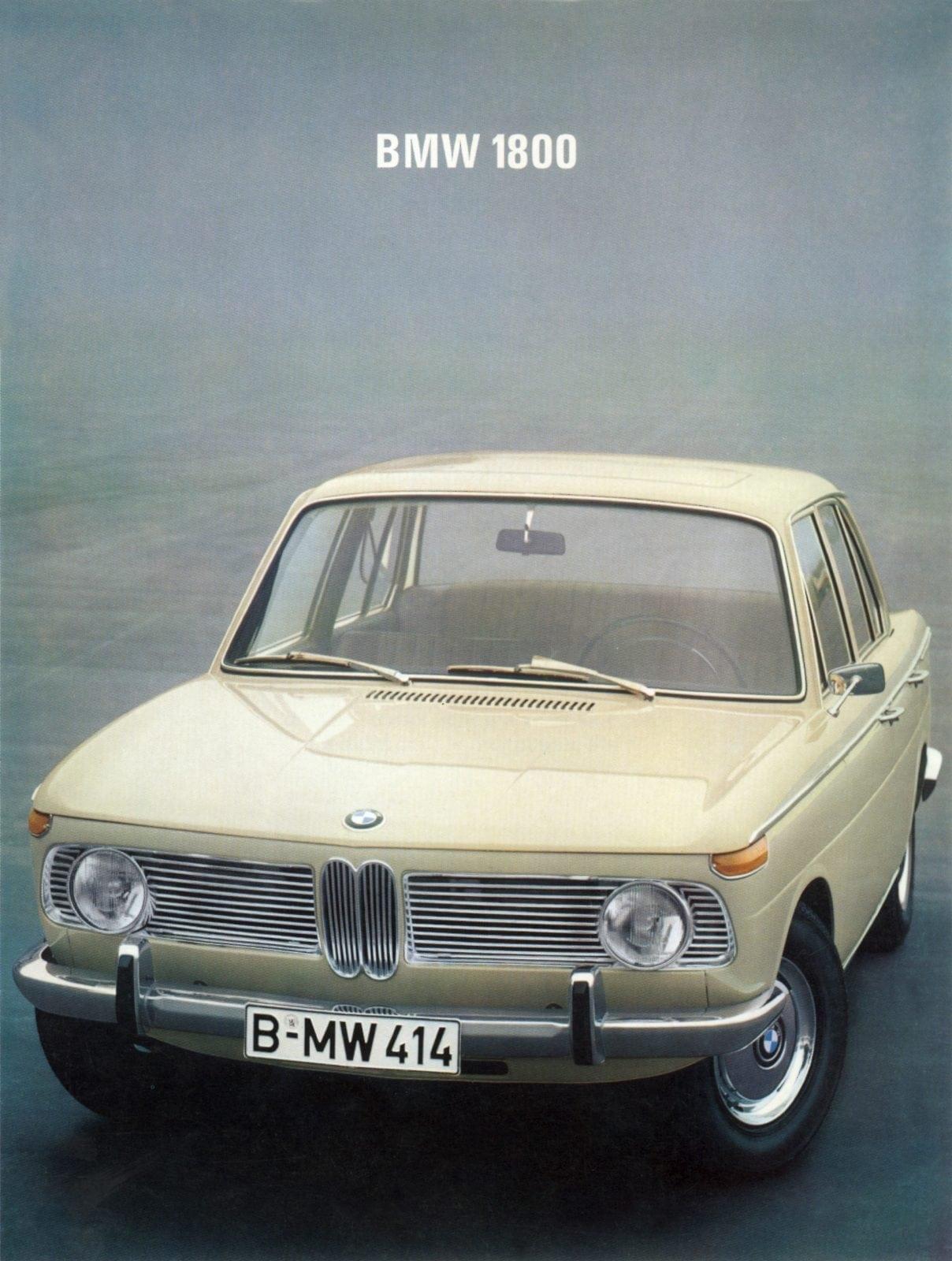50 Years of BMW New Class, BMW 1800 (03/2011)
