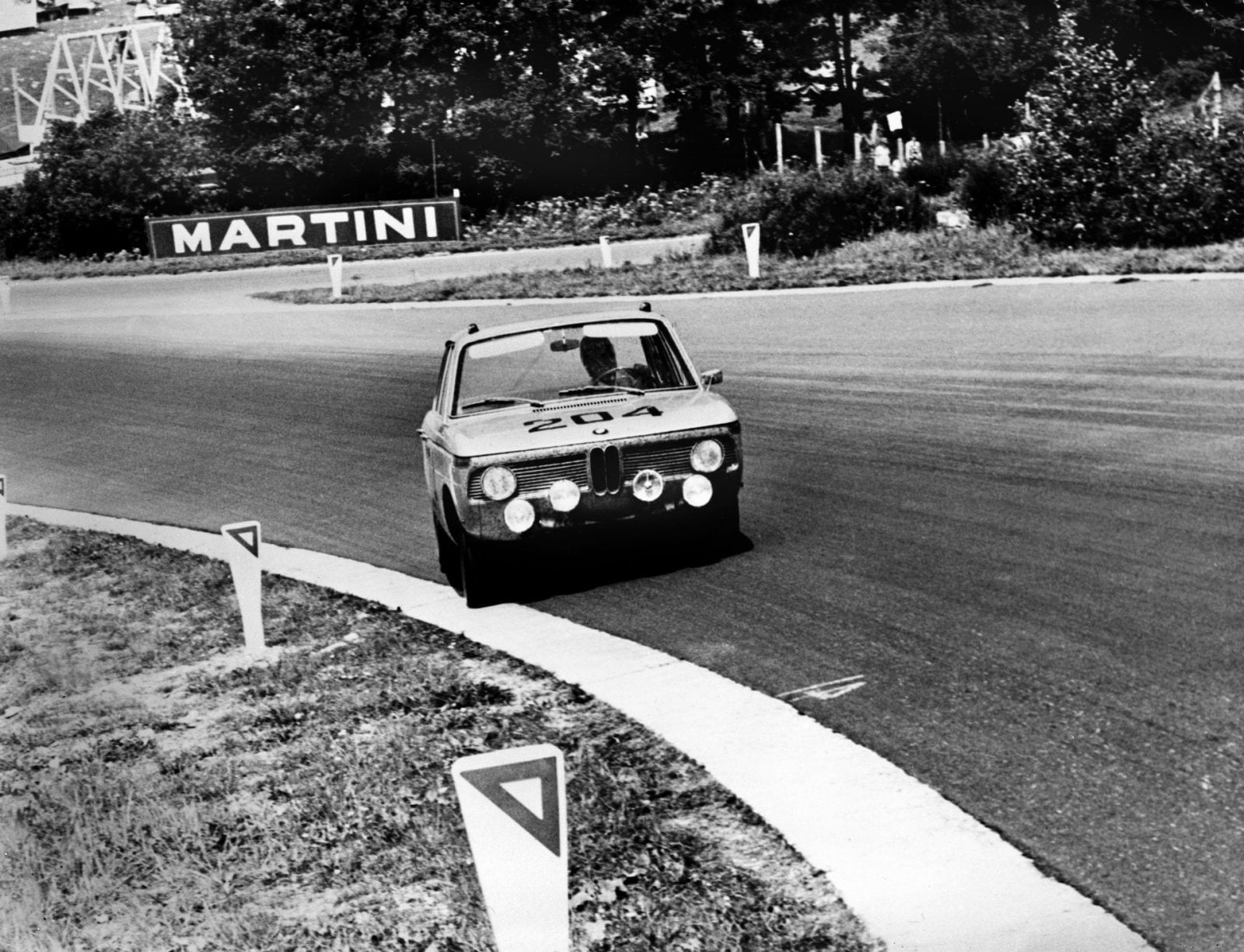 50 Years of BMW New Class, BMW 1800 at Spa-Francorchamps 1964 (03/2011)