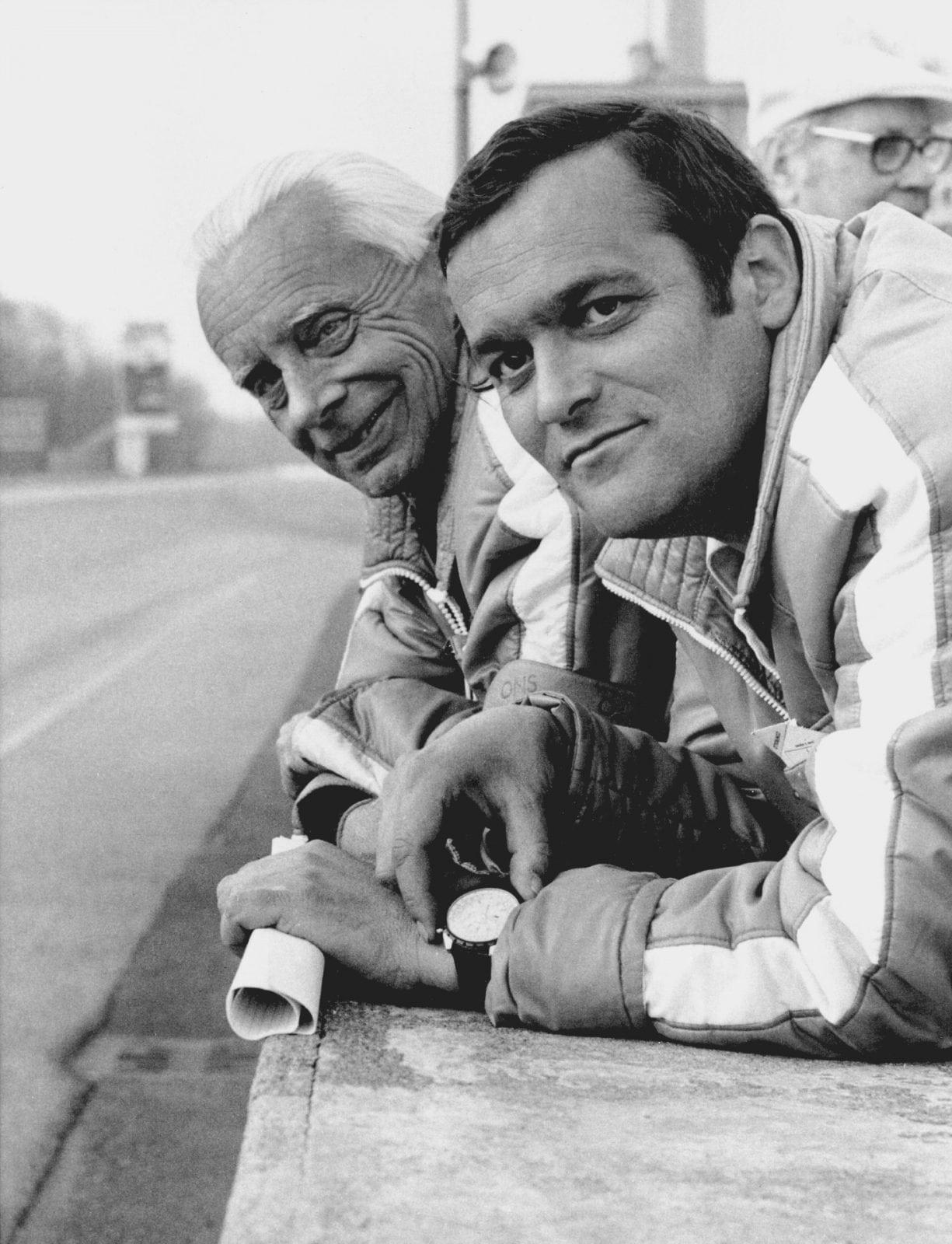 Paul Rosche и Alex von Falkenhausen 1967 год
