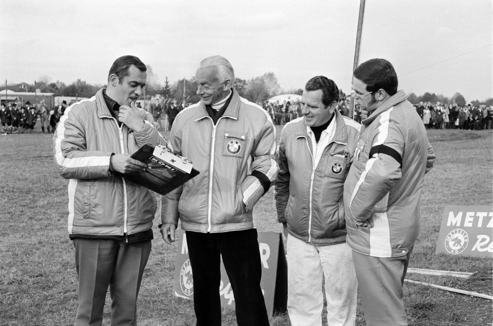 Paul Rosche и Alex von Falkenhausen 1970 год