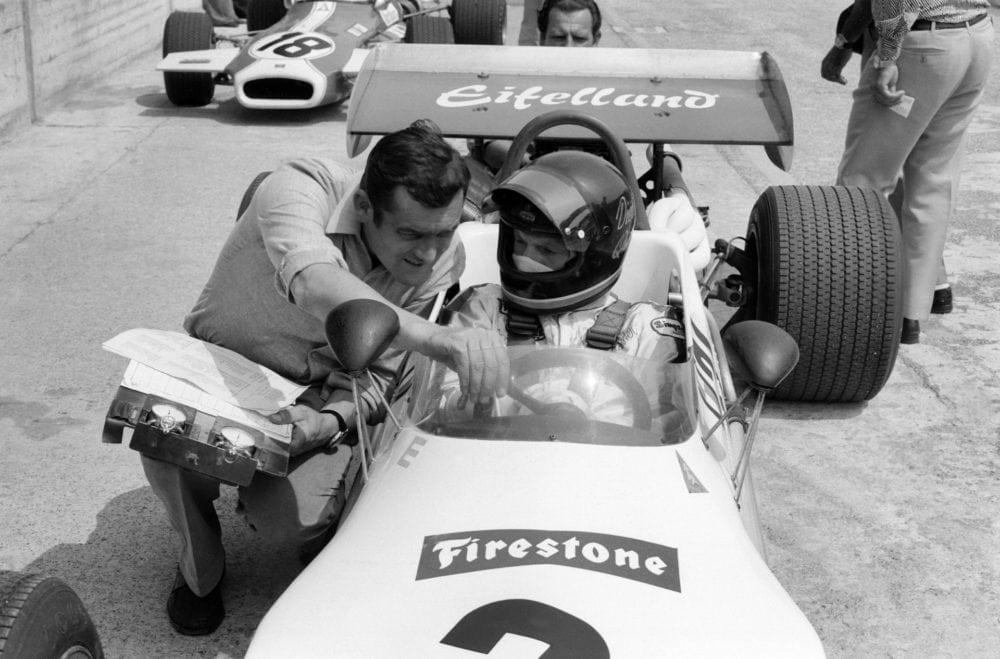 Paul Rosche и Dieter Quester 1971 год