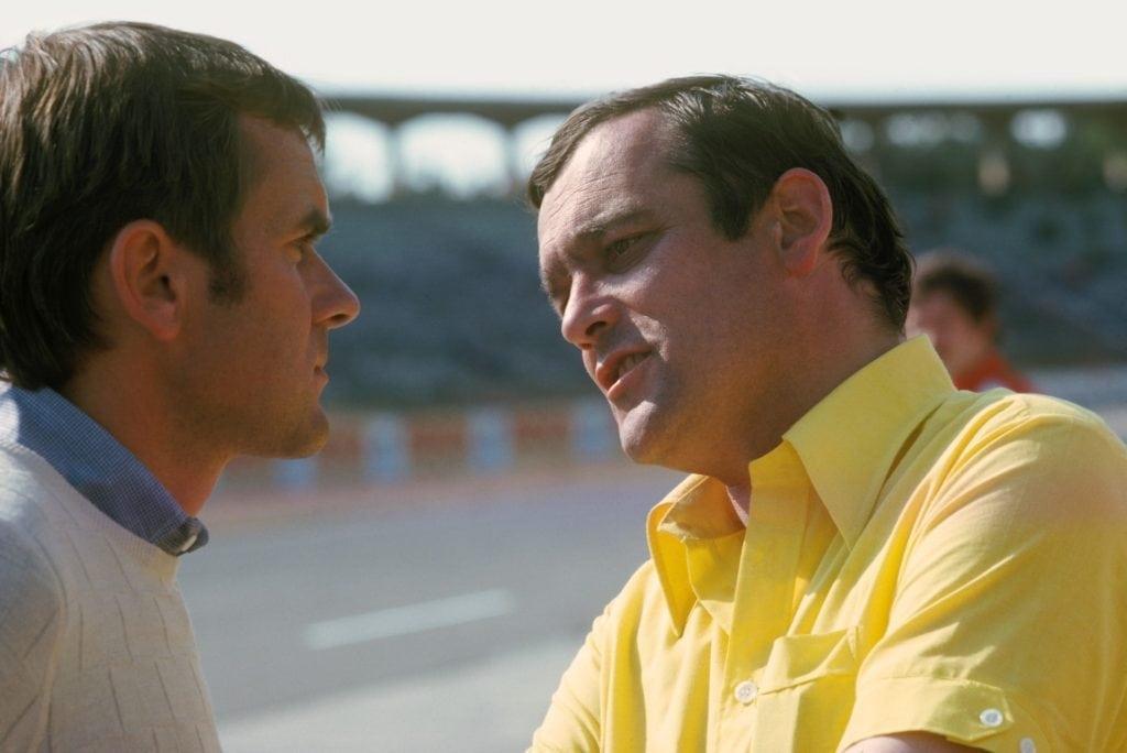 Paul Rosche и Johen Neerpasch 1975 год