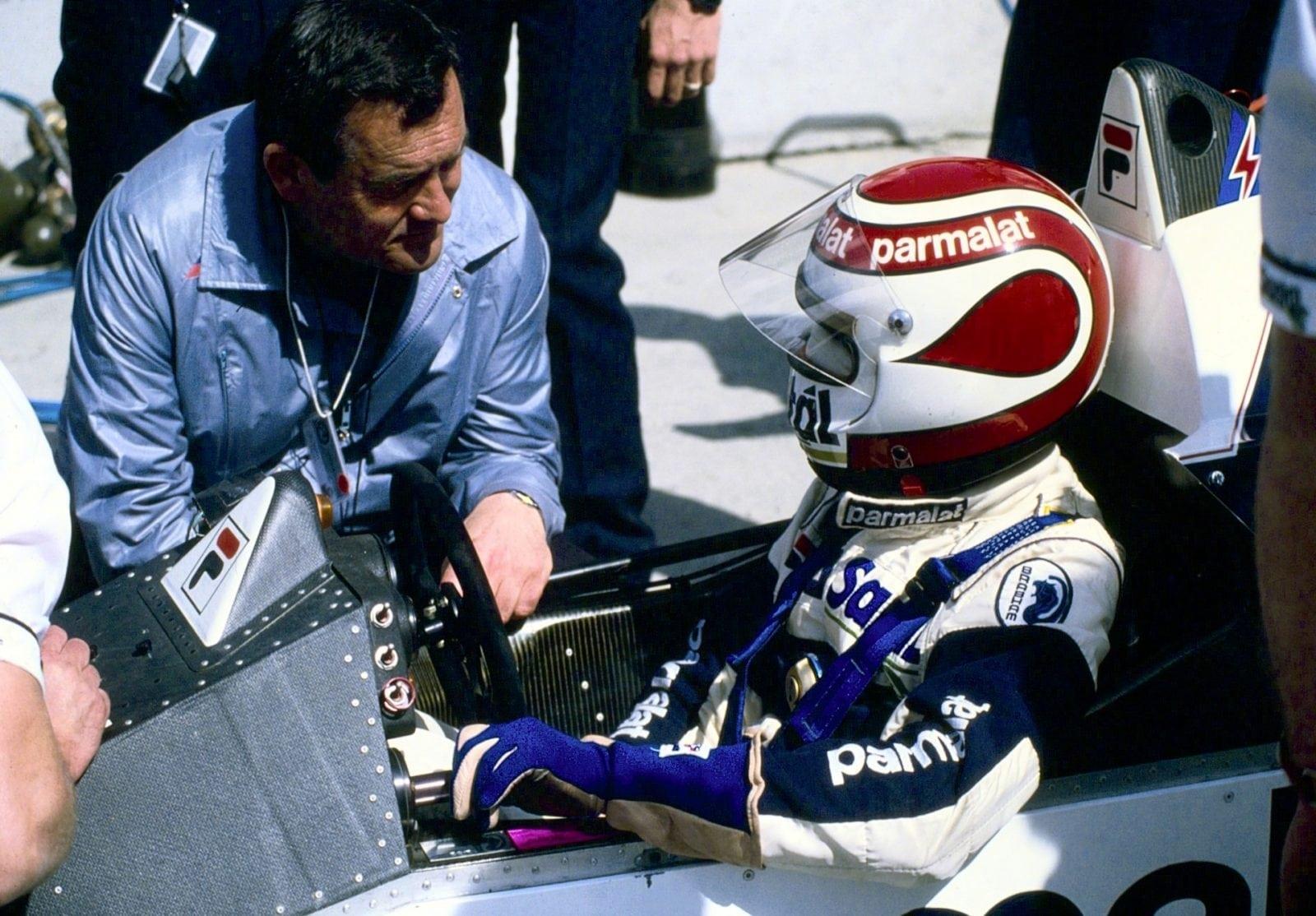 Paul Rosche и Nelson Piquet 1984 год