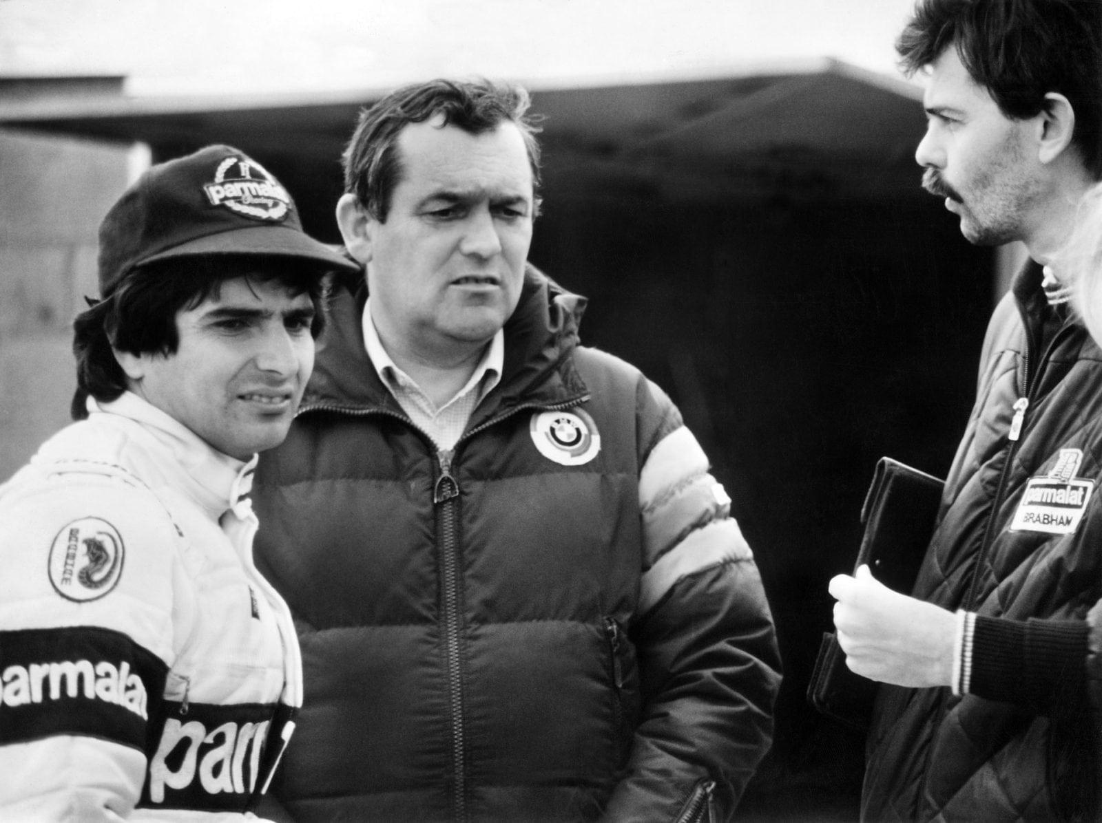 Paul Rosche, Nelson Piqueet и Gordon Murray 1982 год