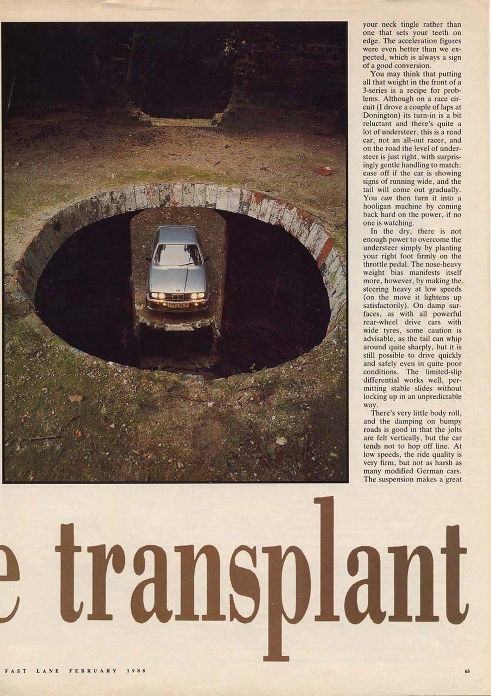 Harthe H36 Fast Line Magazine 1988