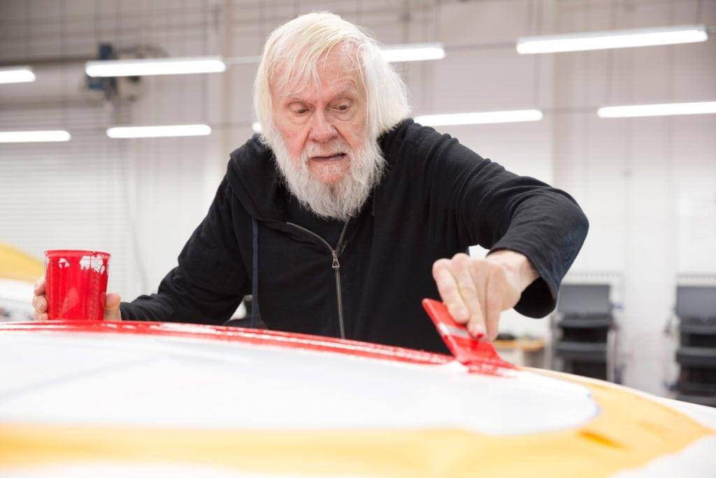 Новый арт-кар BMW на базе M6 GTLM работы Джона Балдессарии сразится на 24 часах Дайтоны