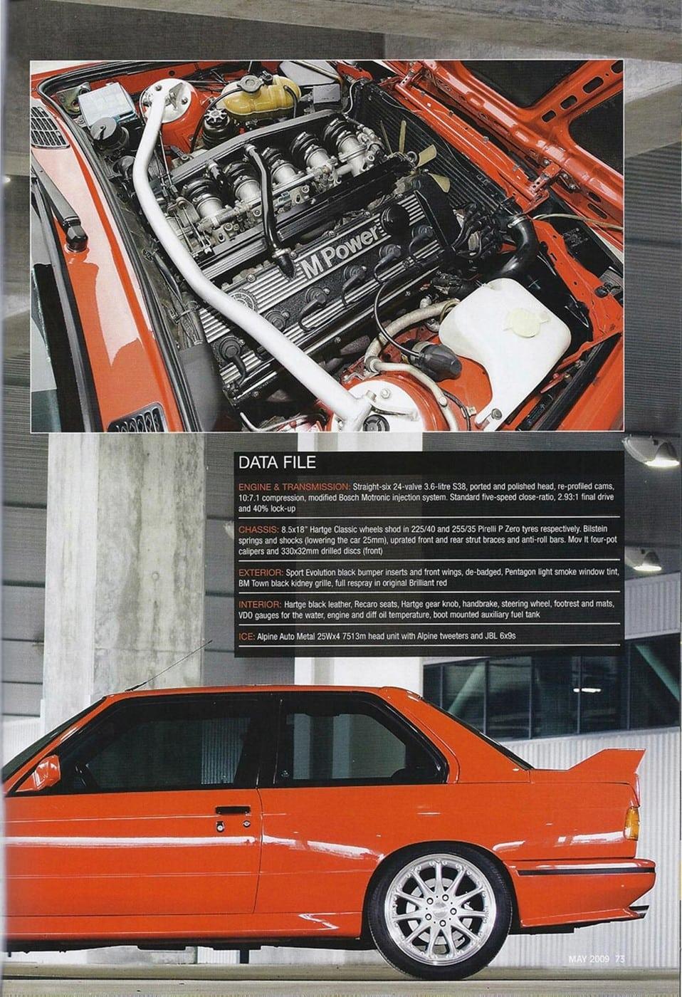 Harthe H36 BMW Performance Magazine 2009