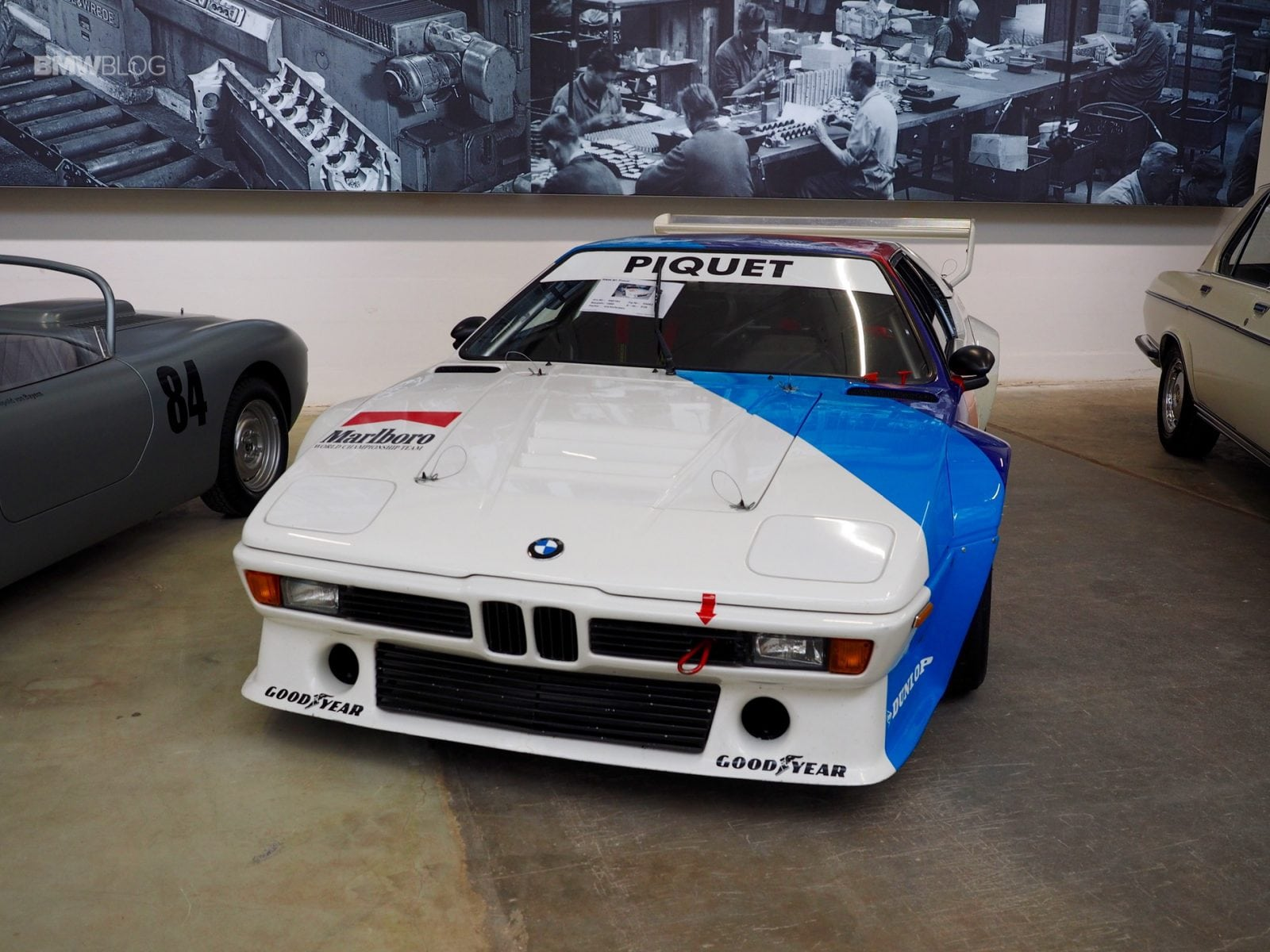 BMW M1 Pro Car at BMW Group Classics