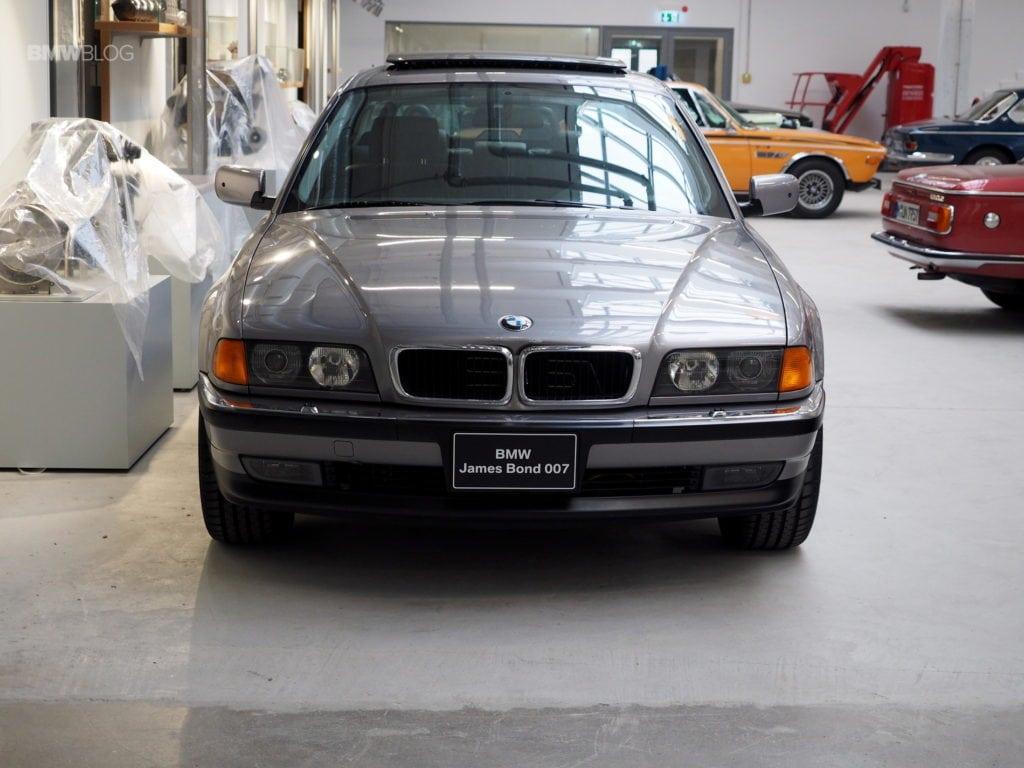 James Bond 007 BMW 750i BMW Group Classics Location in Munich