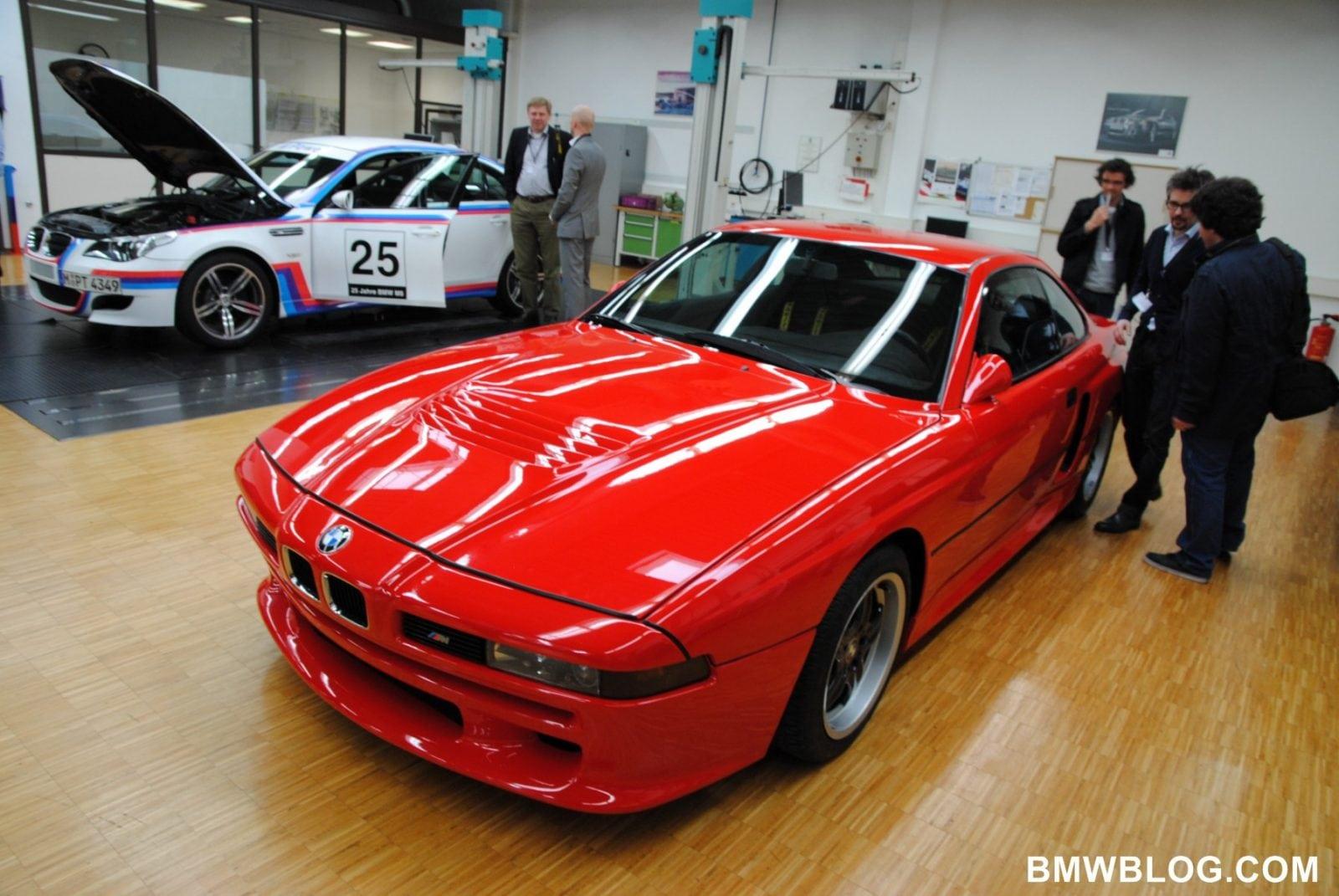 Топовая версия BMW E31 850CSi имела VIN-номер начинавшийся с WBS, который означал принадлежность к BMW Motorsport.