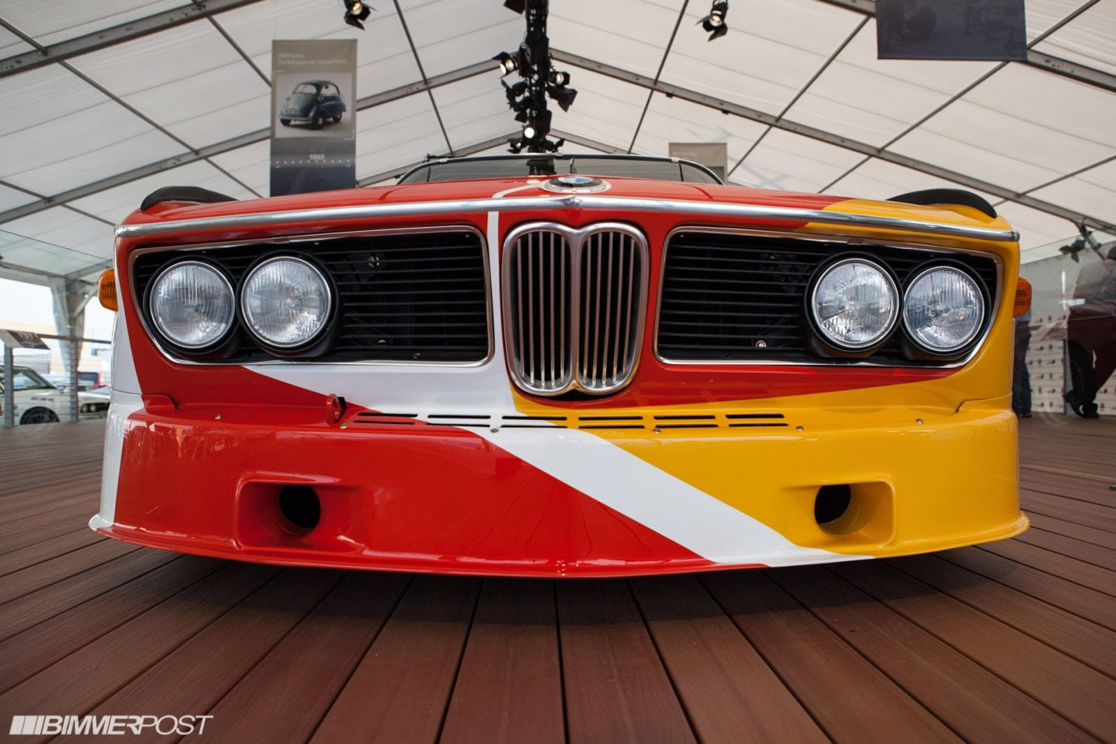 Экспозиция BMW в Pebble Beach, фото - Jason, Bimmerpost