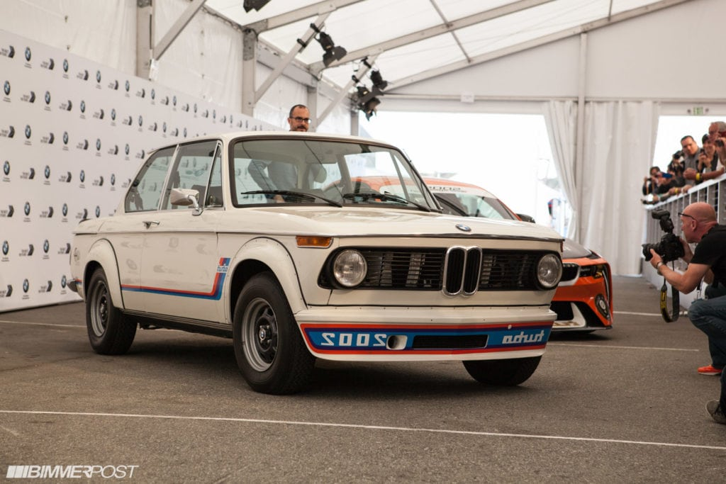 Экспозиция BMW в Pebble Beach, фото - Jason, Bimmerpost