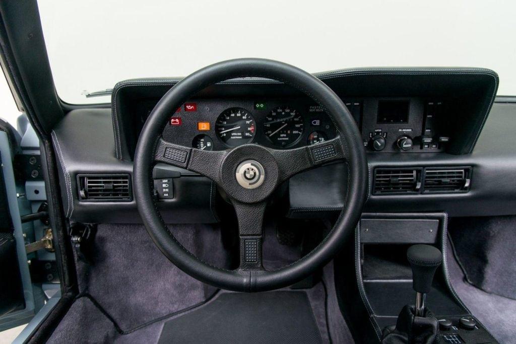 Полностью восстановленный BMW M1 Procar №31 от ателье Canepa.