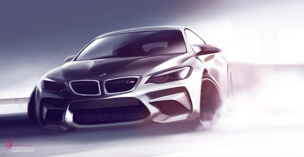 Рендеры BMW M2 F87