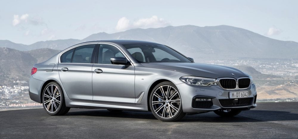 Управление автозакрыванием дверей на BMW 5 Серии G30 2017