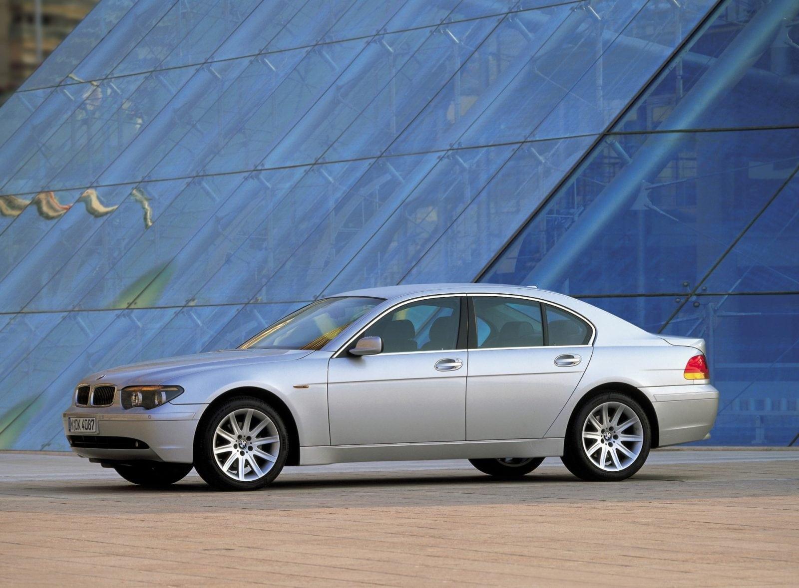Четвертое поколение BMW 7 Серии E65-E66