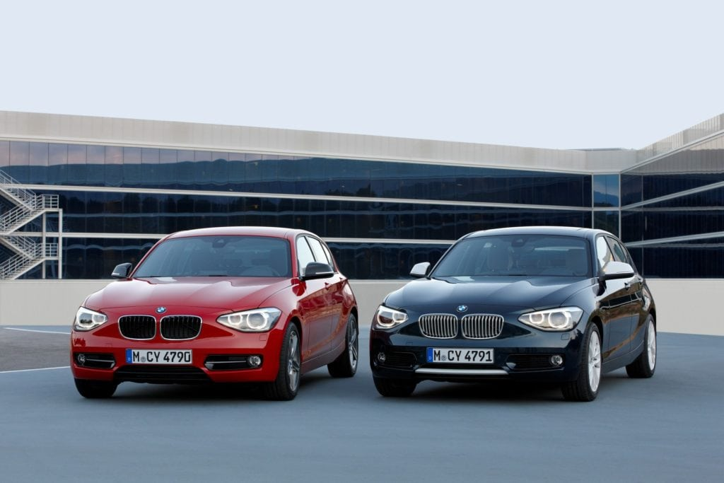 BMW 1 Series F20 Sport and Urban Line