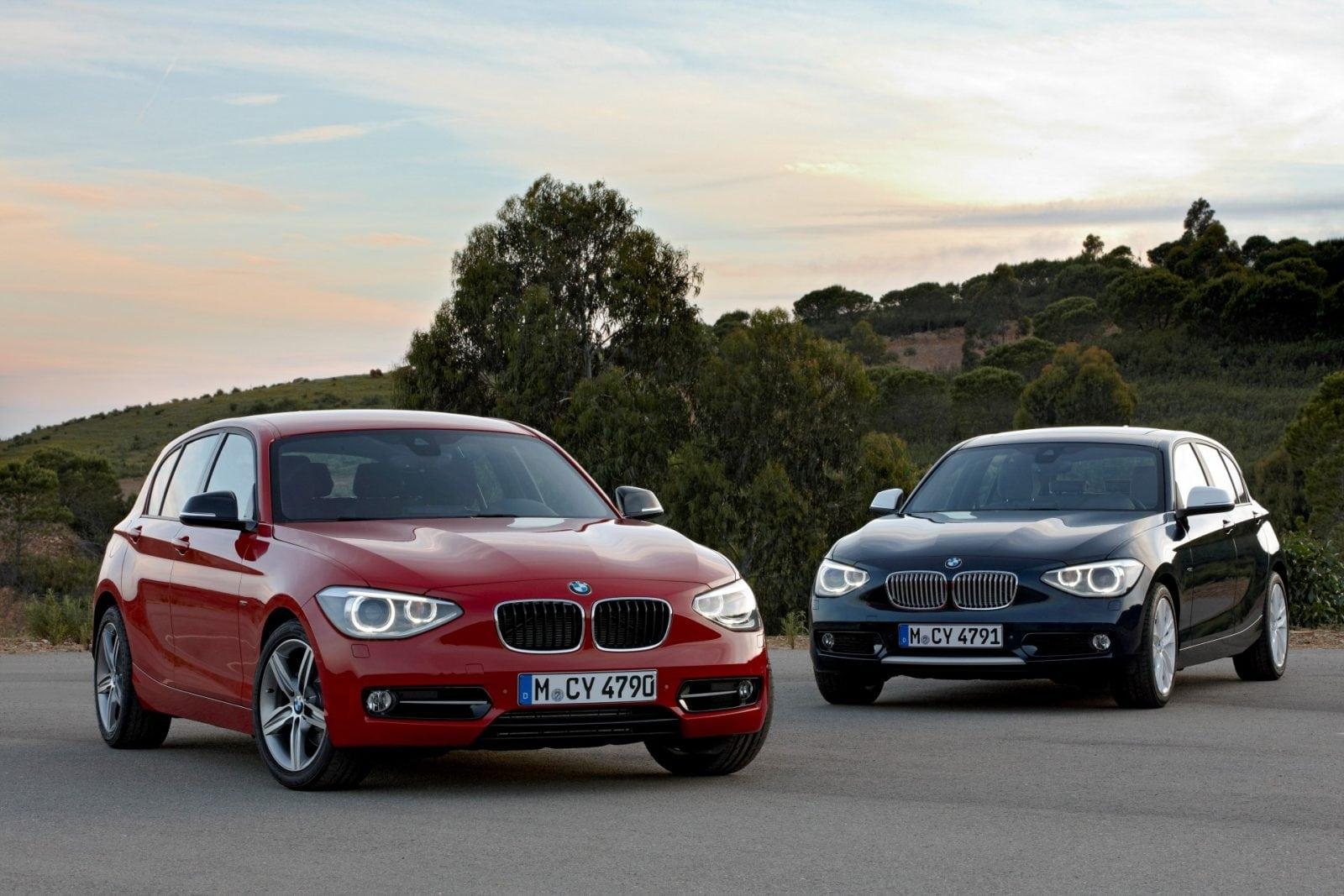 BMW 1 Series F20 Sport and Urban Line