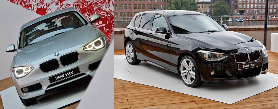 Покупателям BMW 116i в России придётся довольствоваться безымянным исполнением (слева), которое, впрочем, ничуть не хуже, например, версии Urban.