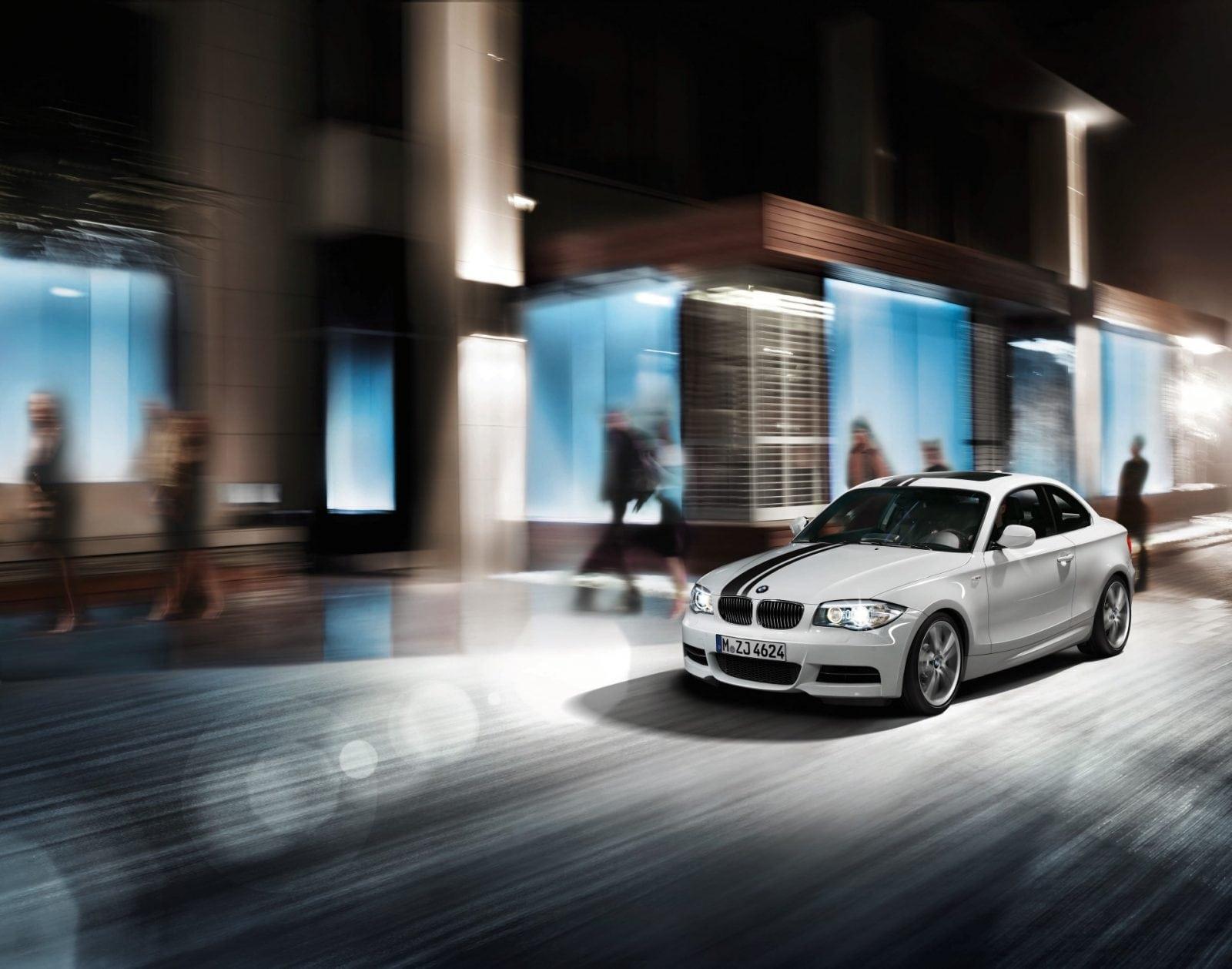 "BMW 1 Series E82 Coupe, Sport Stripes, 18"" Double spoke 182"