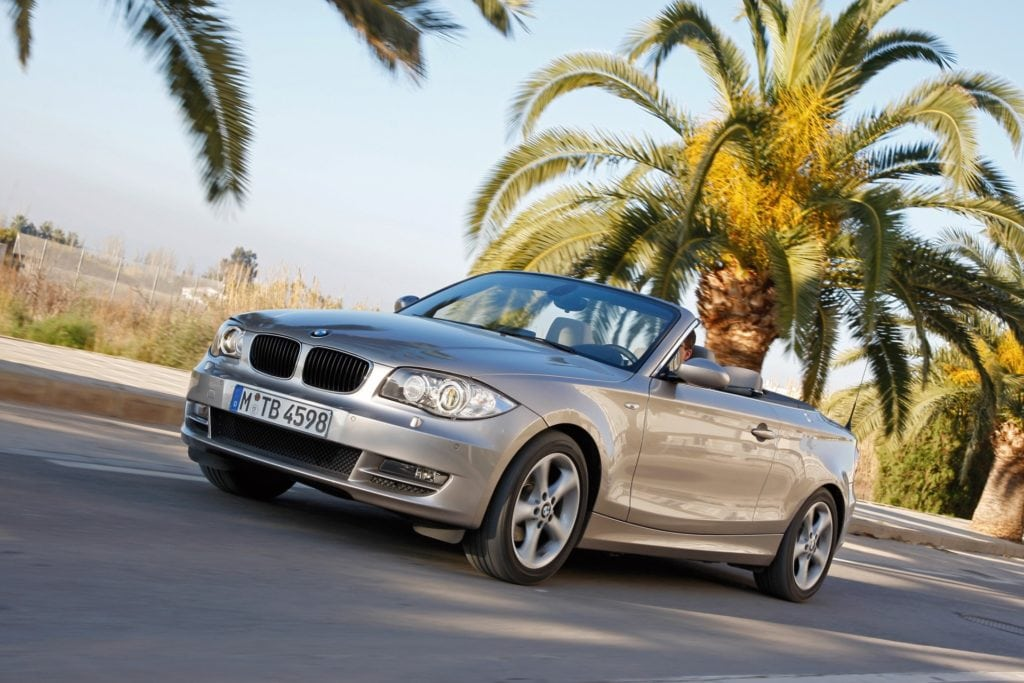 BMW 1 Series E88 Convertible