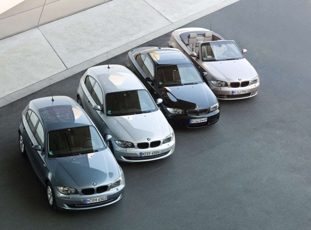 BMW 1 Series 2009 Model Range: E81, E82, E87, E88