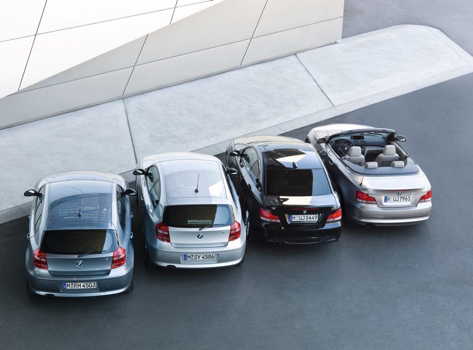 BMW 1 Series 2009 Model Range: E81, E82, E87, E88
